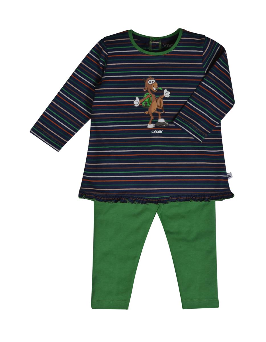 PYJAMA KIDS - LITTLE WOODY - 202-3-BLB-S/987 - multicolor gestreept