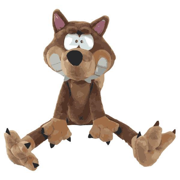 KNUFFEL - WOODY - 202-1-TOY-V/030 - wolf