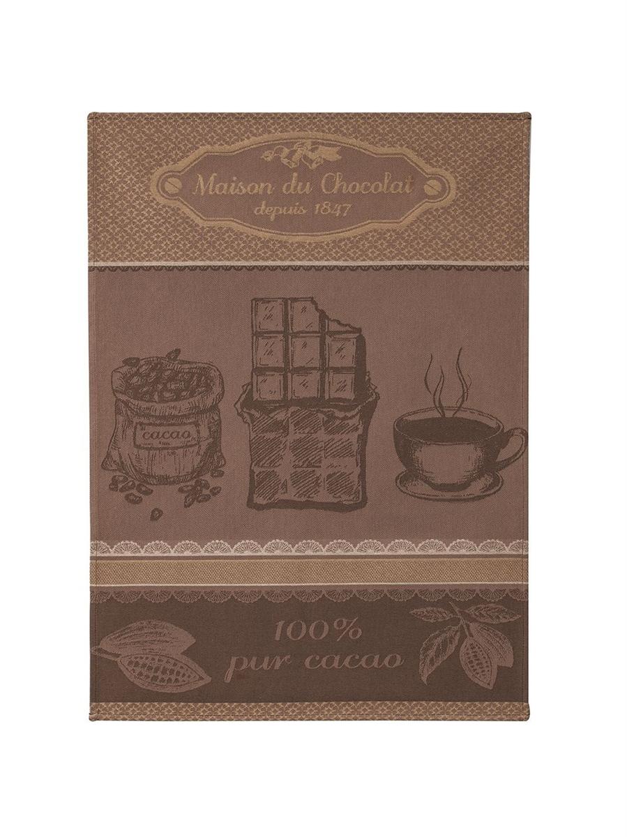 KEUKENHANDDOEK - COUCKE - MAISON DU CHOCOLAT - BRUIN