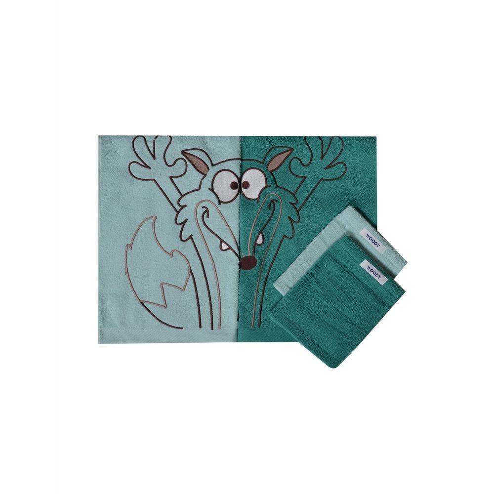 BADLINNEN KIDS - WOODY - 202-1-TTW-B/030 - wolf