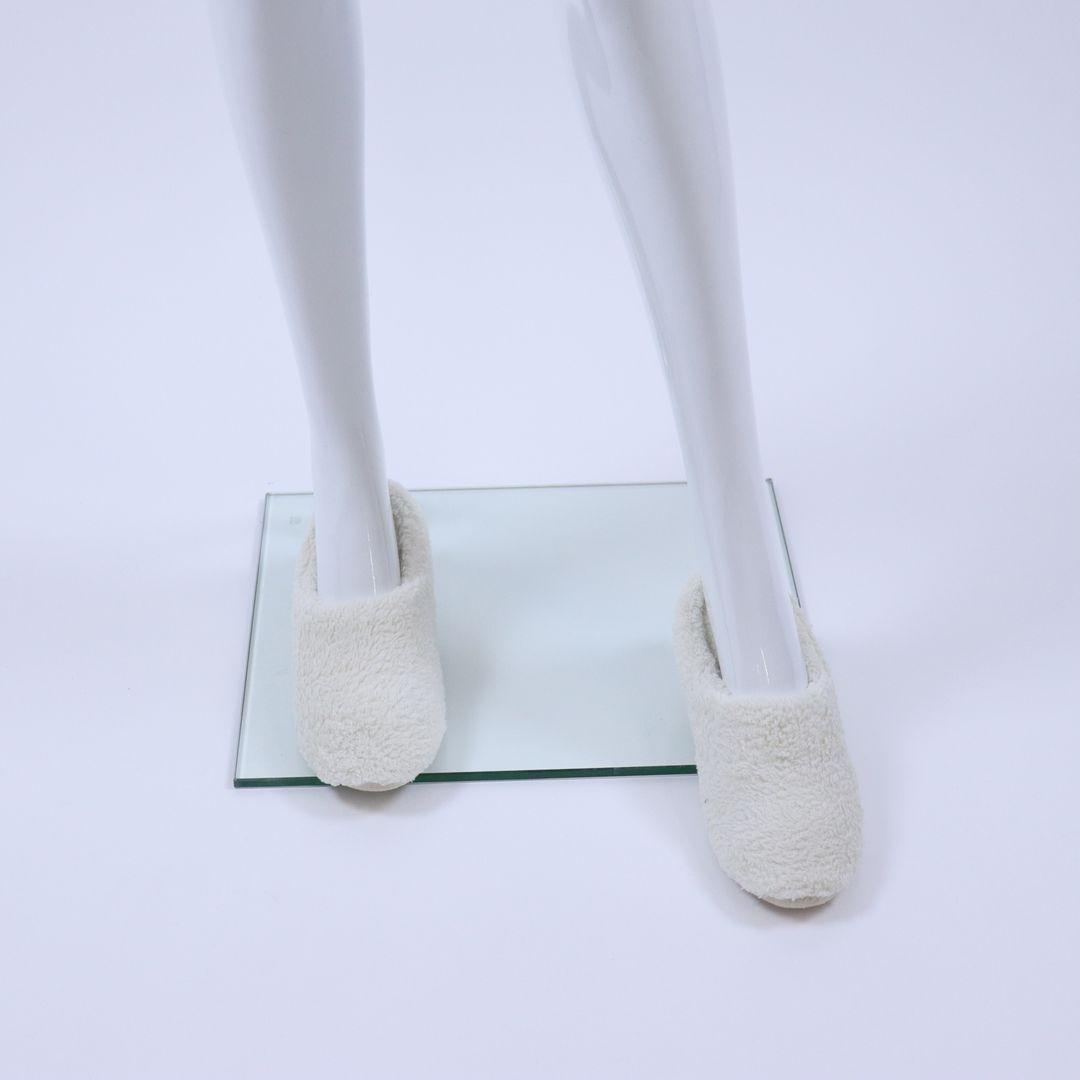 Pantoffel dames - WOODY - 202-1-WSC-C/110 - gebroken wit