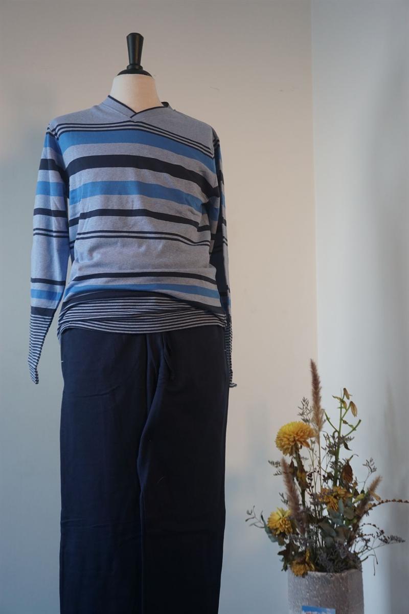 Pyjama heren - Gausch - GC791 - BLAUW