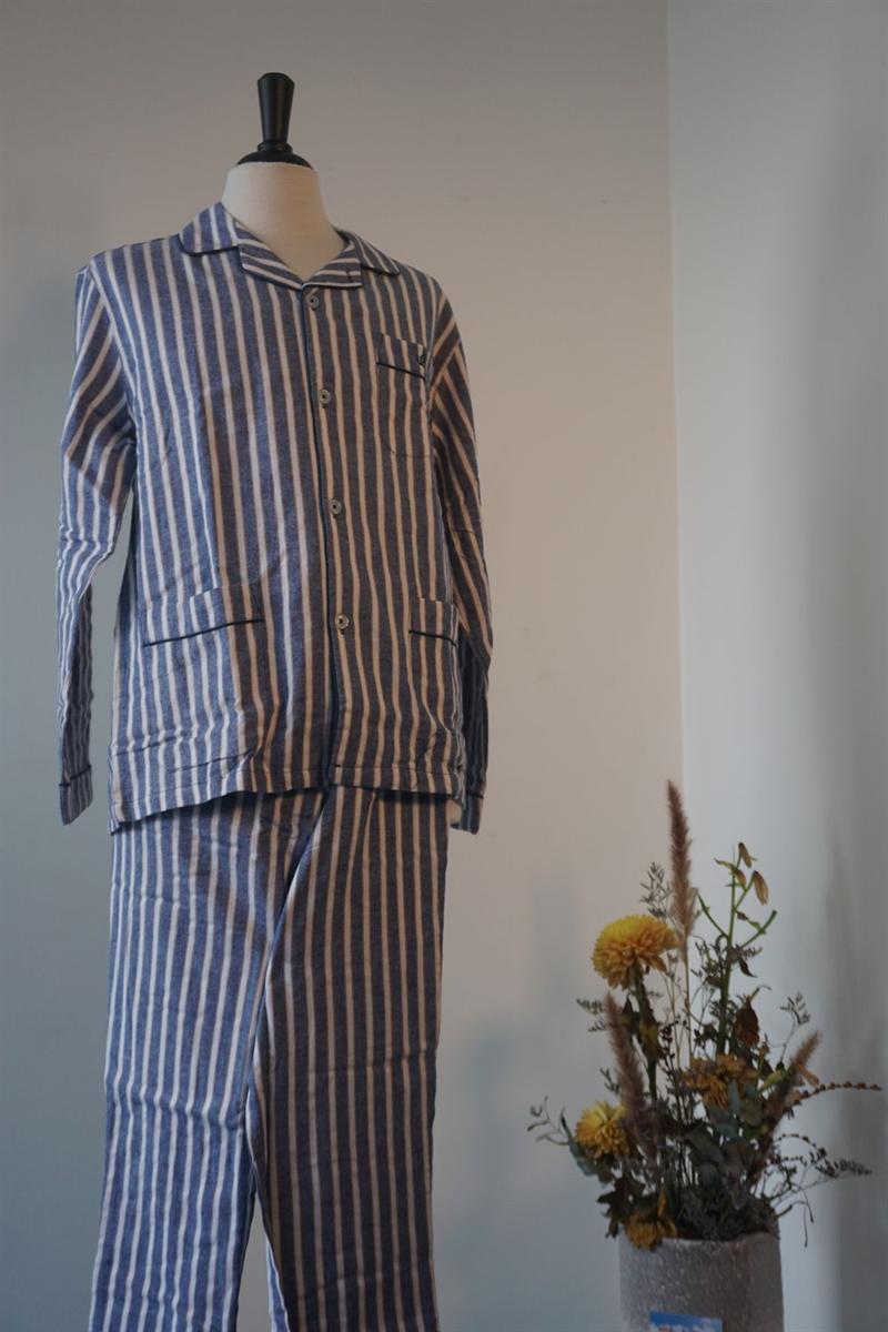 Pyjama heren - Gausch - PC421 - BLAUWGRIJS