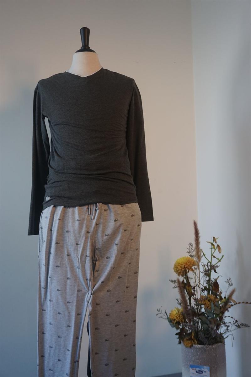 Pyjama heren - Lacoste - 164978 - GRIJS