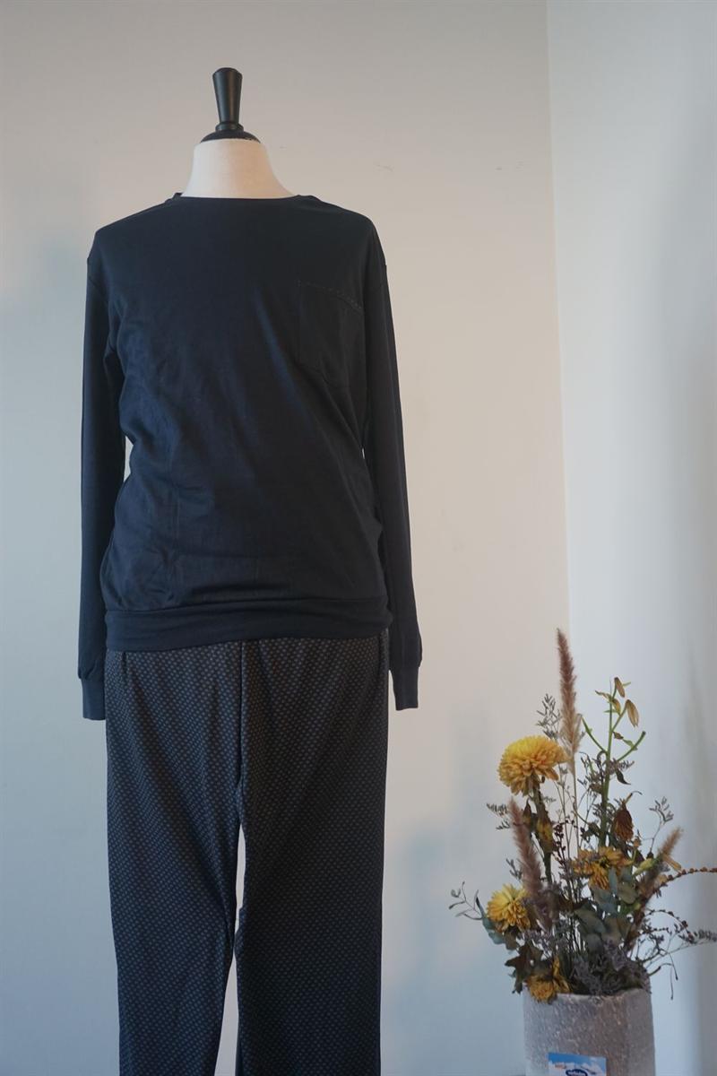 Pyjama heren - Schiesser - 171427 - DBLAUW