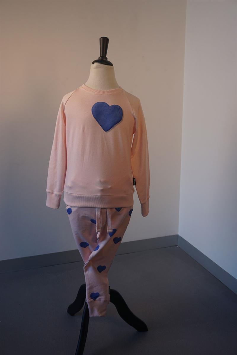 Pyjama meisjes - Snurk - CLAY HEART - ROOS