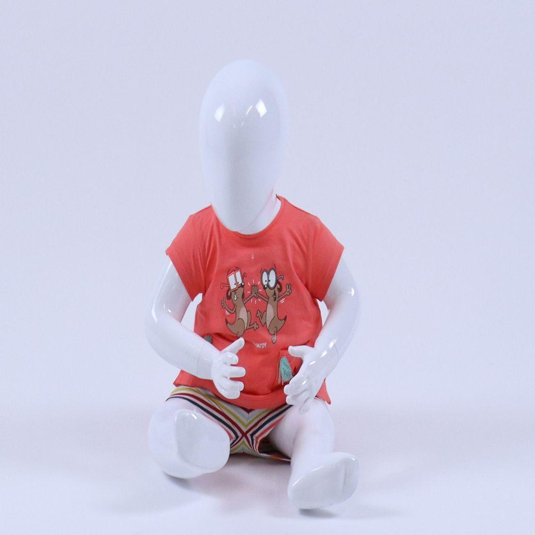 Pyjama baby - Woody - 191-3-BST-S/505 - koraal roze