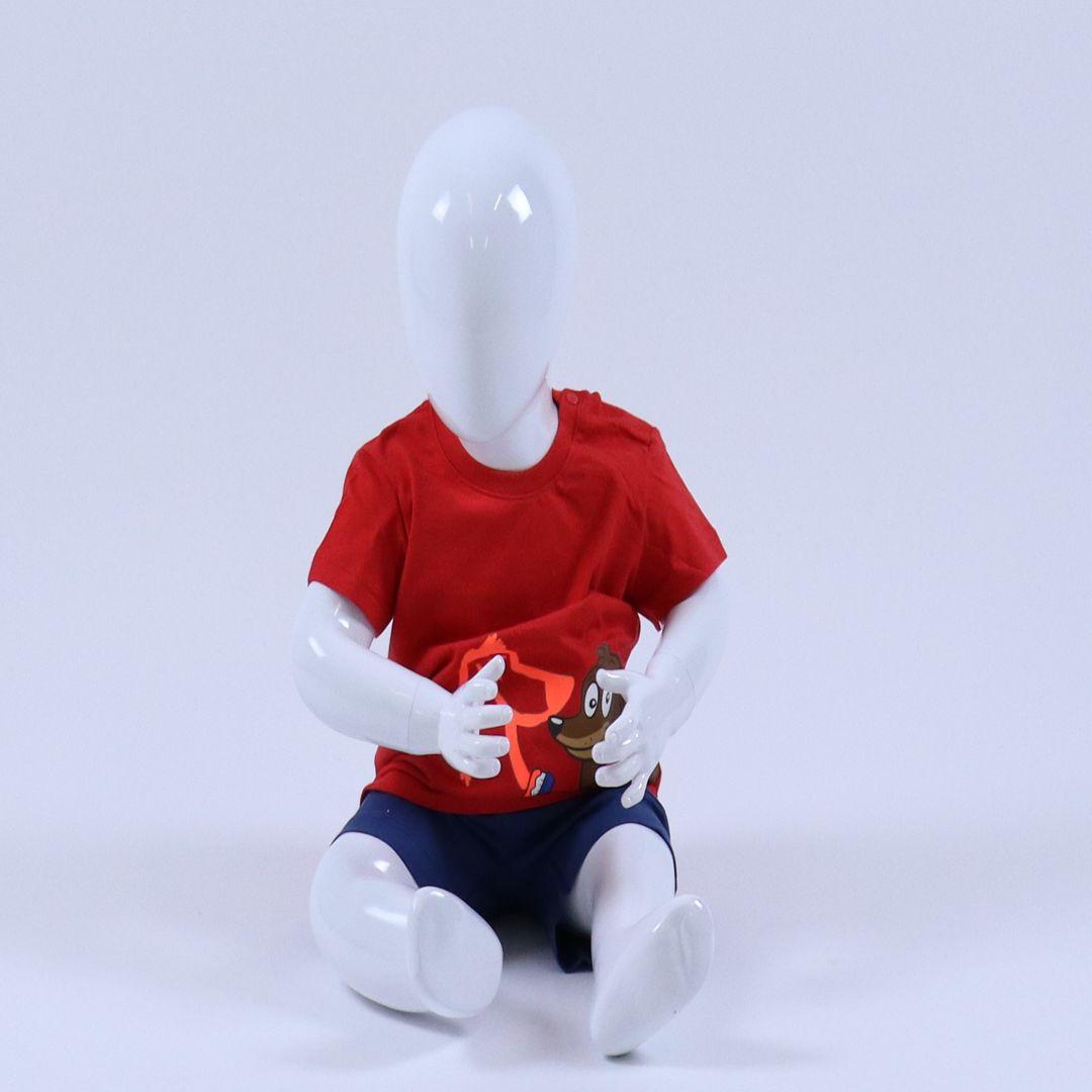 Pyjama baby - Woody - 201-3-PSU-S/436 - felrood