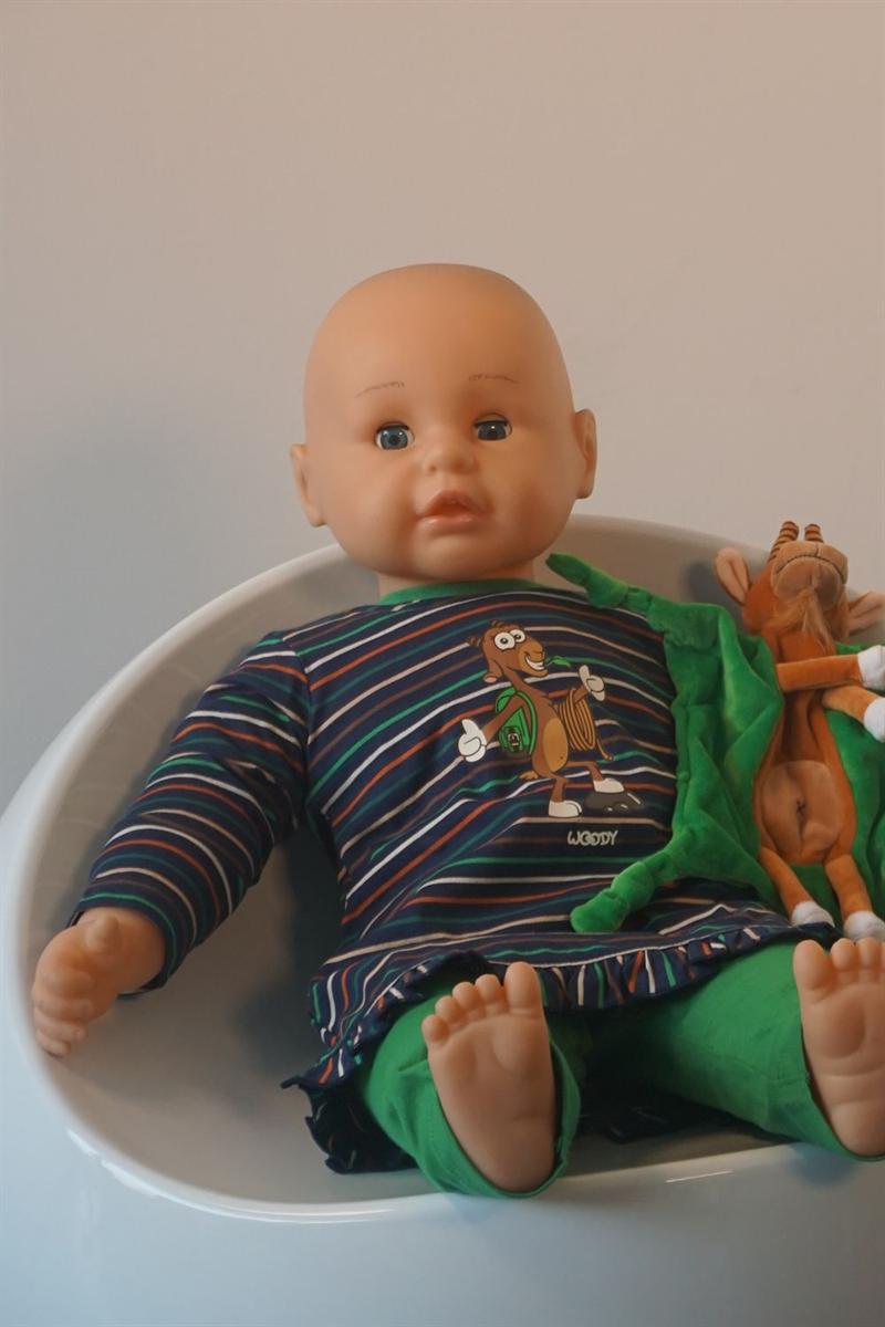 Pyjama baby - Woody - 202-3-BLB-S/987 - multicolor gestreept