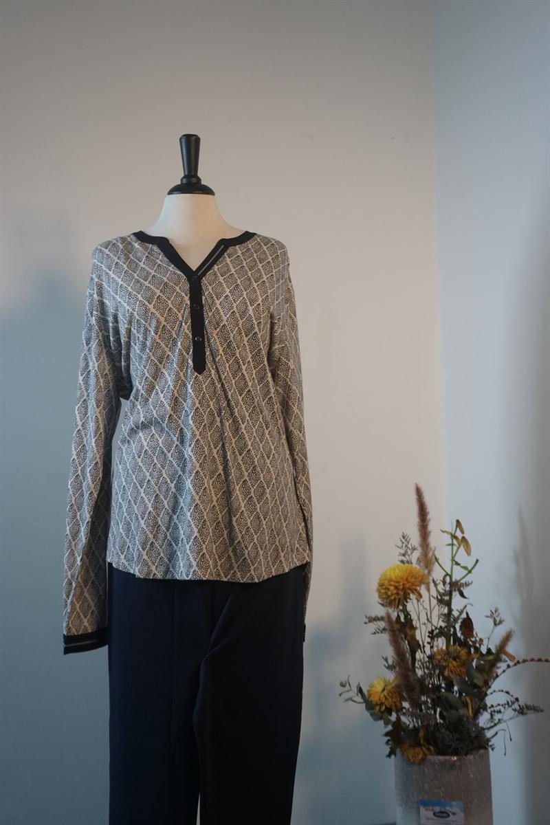 Pyjama dames - Cyell - 101/211 - MARINE