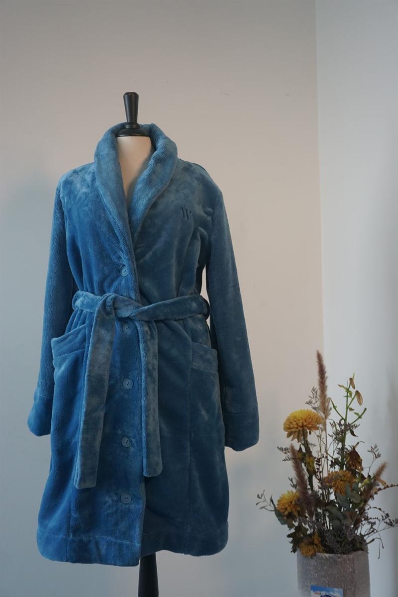 Kamerjas dames - WOODY - 202-1-MOL-C/845 - blauw