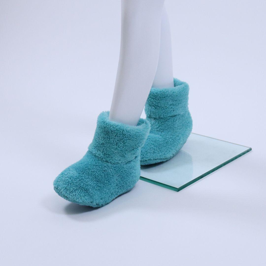 Pantoffel kids - WOODY - 192-1-BOO-M/727 - ijsblauw