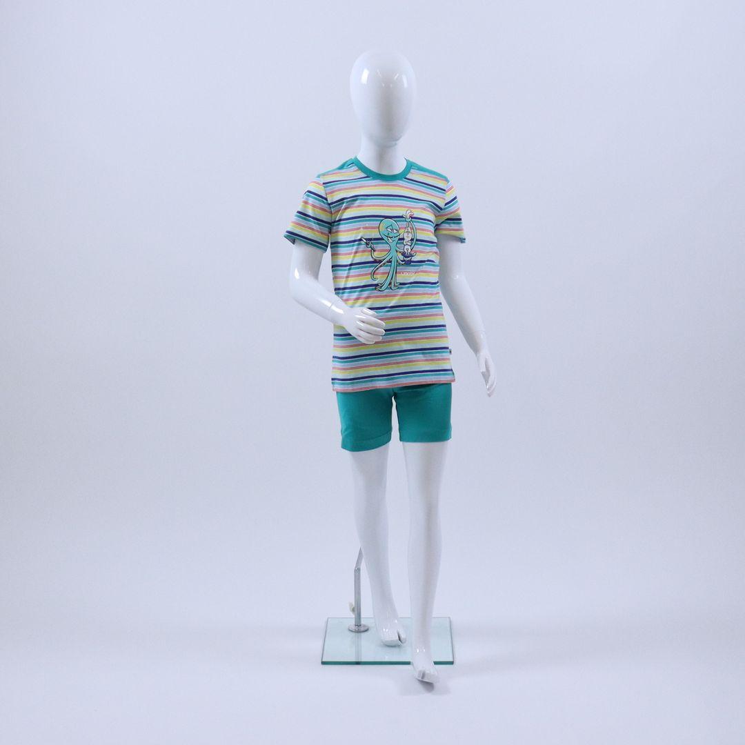 Pyjama jongens - Woody - 211-1-PUS-S/917 - MULTI