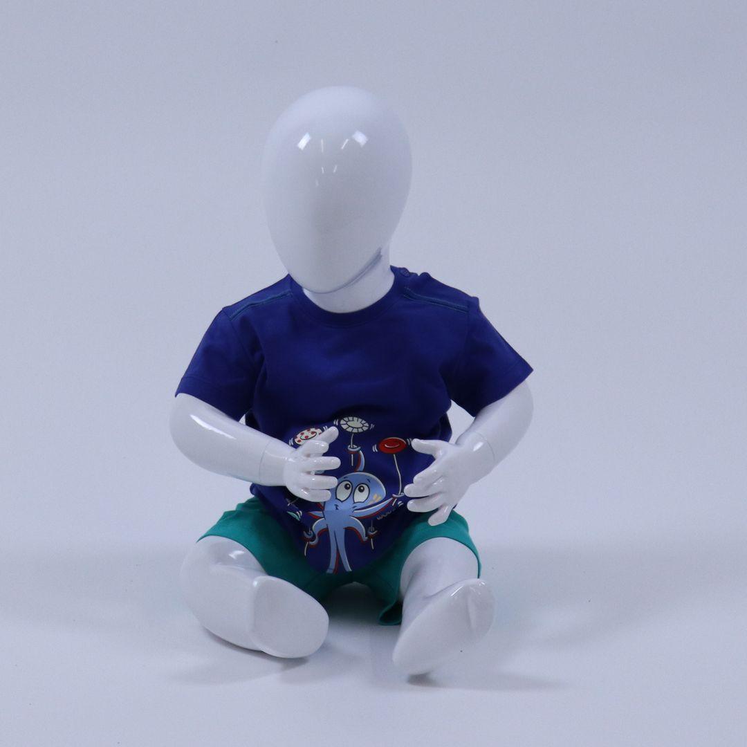 Pyjama baby - Woody - 211-3-PSU-S/857 - BLAUW