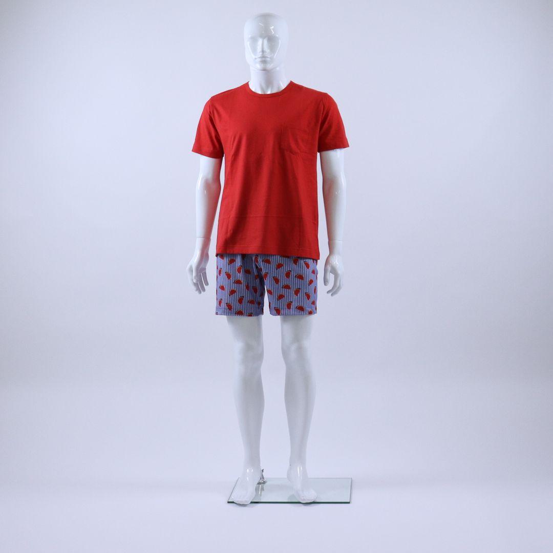 Pyjama heren - Mey - 33013 - ROOD