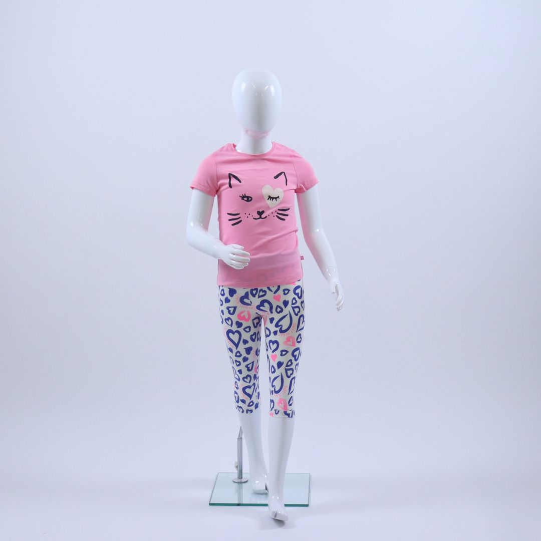 Pyjama meisjes - Sanetta - 232236 - MULTI