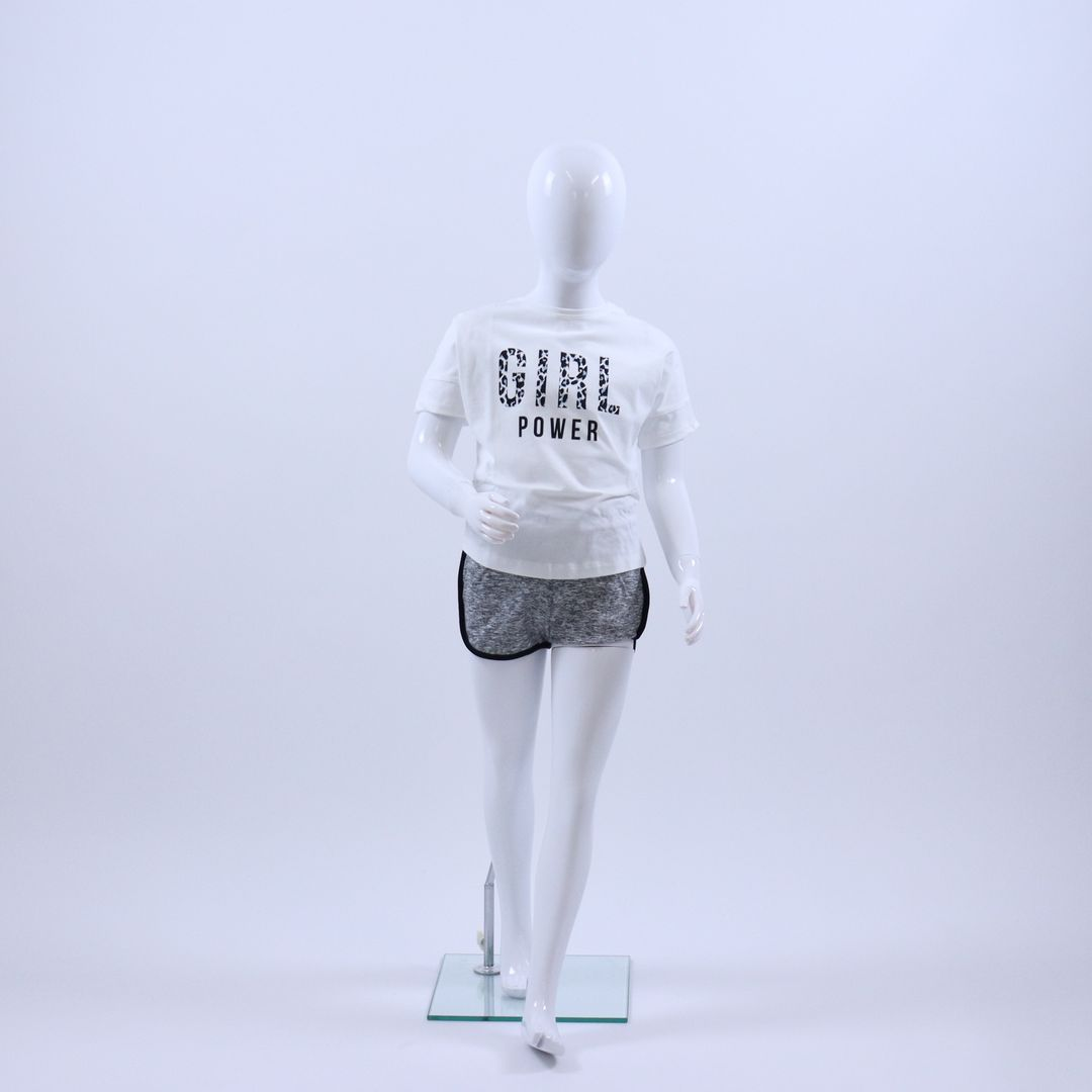Pyjama meisjes - Sanetta - 244674 - ECRU