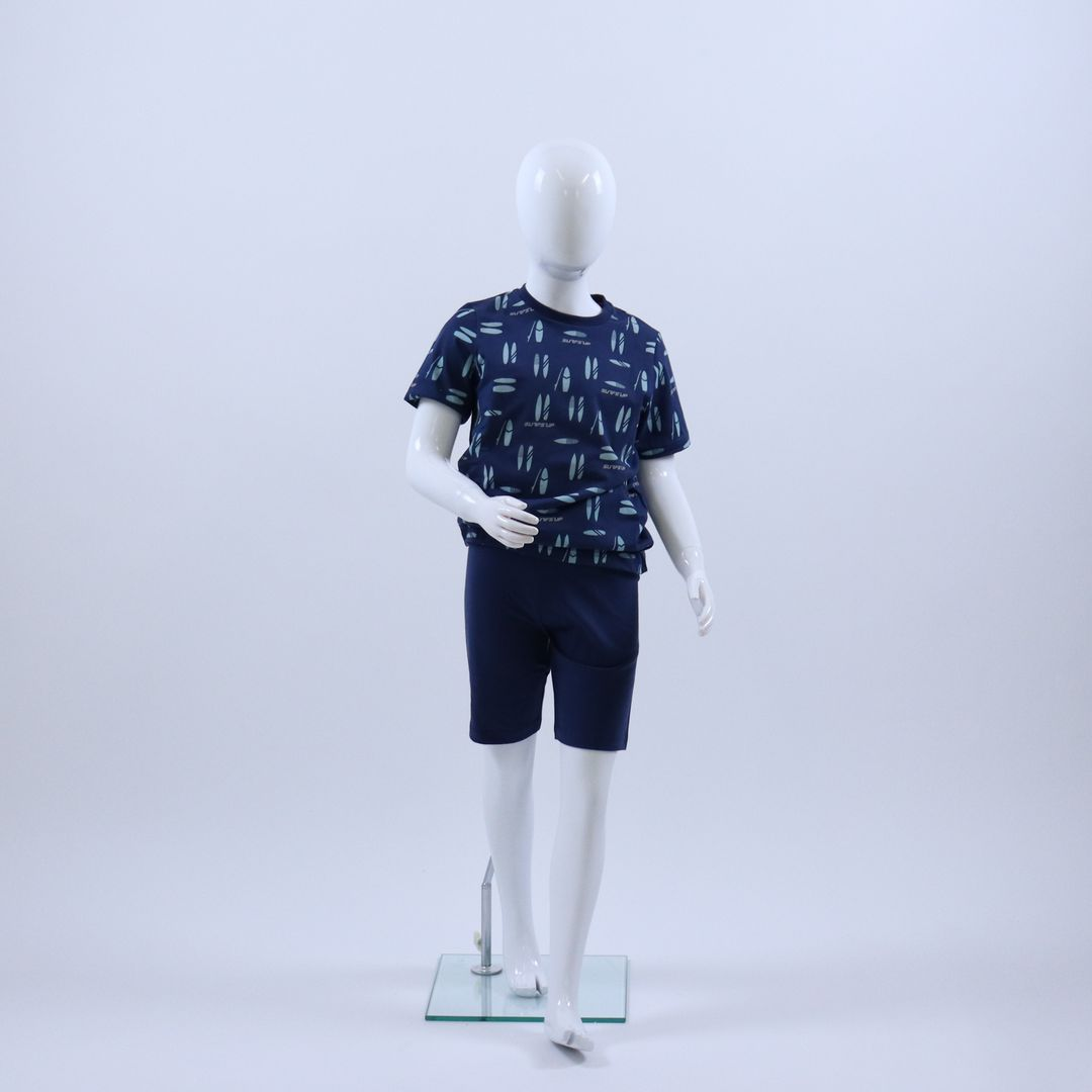 Pyjama jongens - Sanetta - 244717 - COSMOS