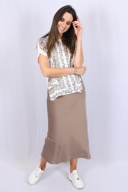 Gustav - Rok - Elly bias cut skirt - 40555 7141 561
