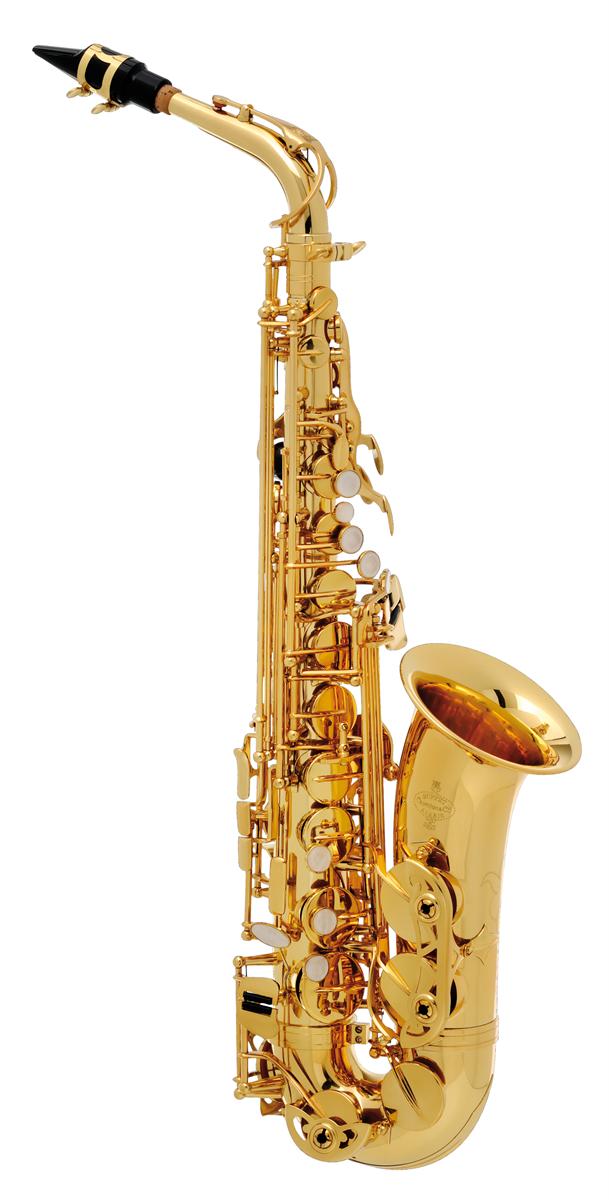 Buffet Crampon Alt Saxofoon 100 Serie Student - Uitvoering: Goudlak
