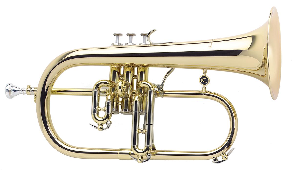 Courtois Flugel Horn REFERENCE - Uitvoering: Goudlak
