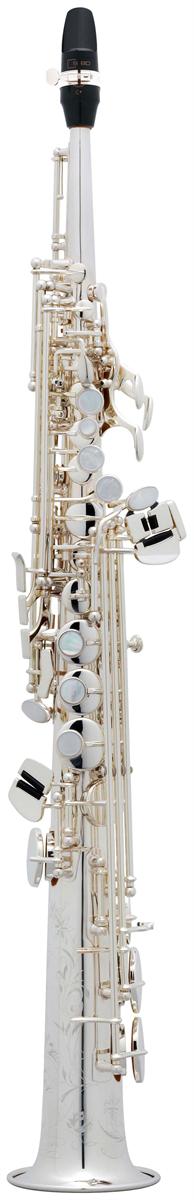 Selmer Soprano Saxofoon SA80 Série II - Uitvoering: Verzilverd