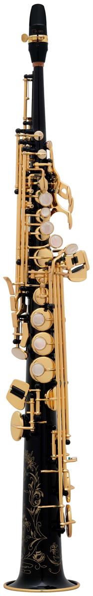 Selmer Soprano Saxofoon SA80 Série II - Uitvoering: Zwart Gelakt