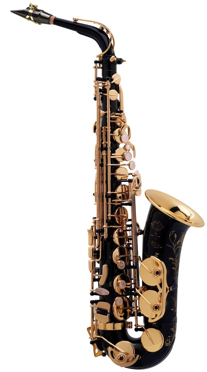 Selmer Alt Saxofoon SA80 Série II - Uitvoering: Zwart Gelakt