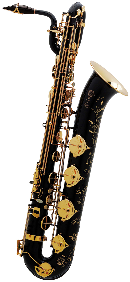 Selmer Bariton Saxofoon SA80 Série II - Uitvoering: Zwart Gelakt