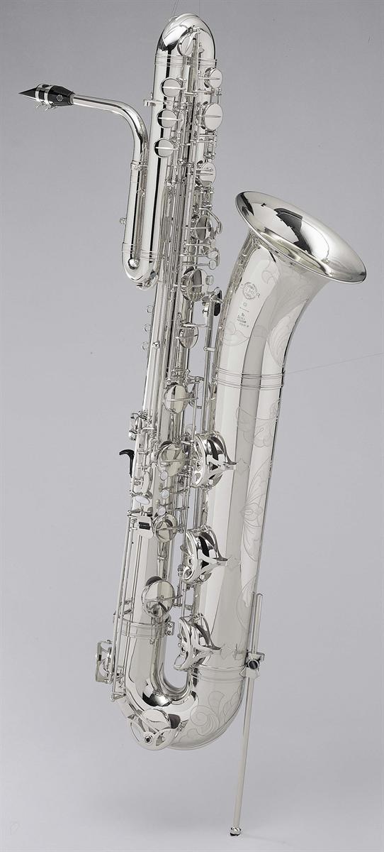 Selmer Bas Saxofoon SA80 Série II - Uitvoering: Verzilverd