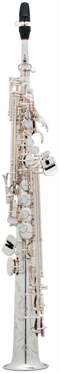 Selmer Soprano Saxofoon Série III - Uitvoering: Verzilverd