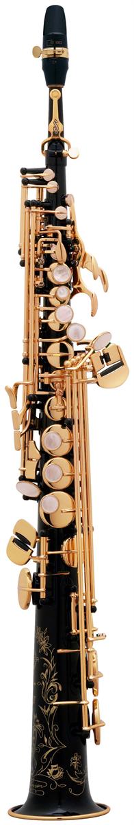 Selmer Soprano Saxofoon Série III - Uitvoering: Zwart Gelakt