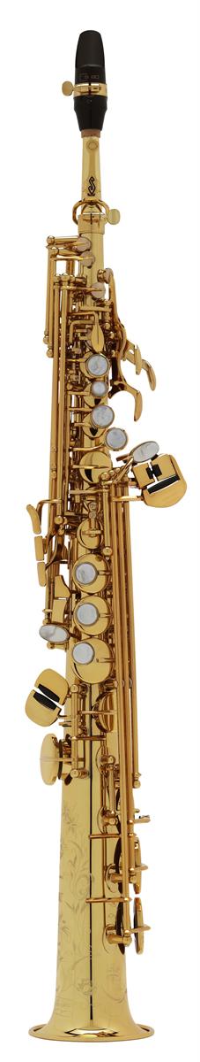 Selmer Soprano Saxofoon Série III - Uitvoering: Verguld