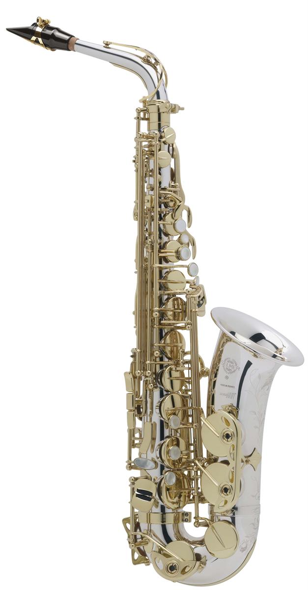 Selmer Alt Saxofoon Série III - Uitvoering: Massief Zilver