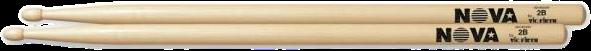 Nova Drumstokken Hickory Houten tip 2B