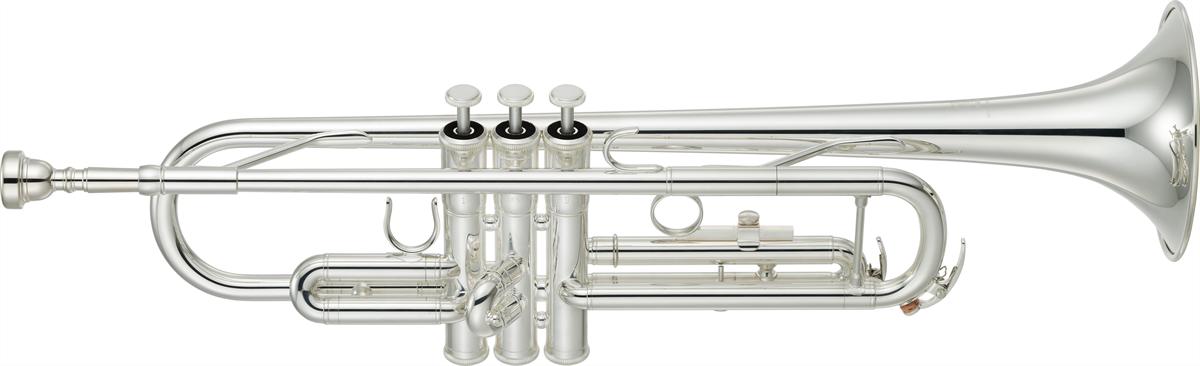 Yamaha Bb Trompet YTR-3335S Medium Weight Standard - Uitvoering: Verzilverd