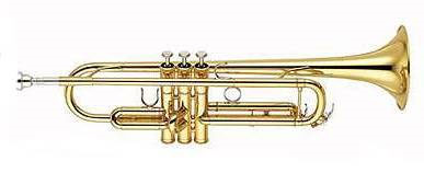 Yamaha Bb Trompet YTR-5335G Medium Weight Intermediate - Uitvoering: Goudlak