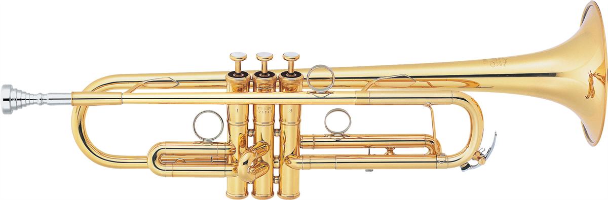 Yamaha Bb Trompet YTR-8340EM Lightweight Custom - Uitvoering: Goudlak