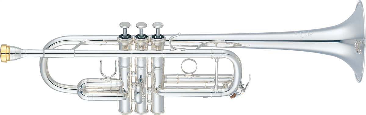 Yamaha C Trompet YTR-8445GS Heavy Weight XENO - Uitvoering: Verzilverd