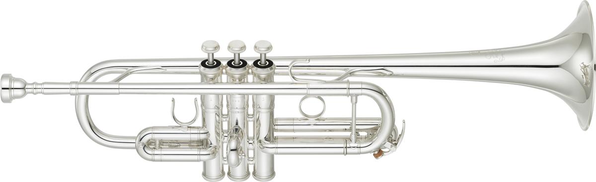 Yamaha C Trompet YTR-9445CHS Heavy Weight XENO Chicago - Uitvoering: Verzilverd