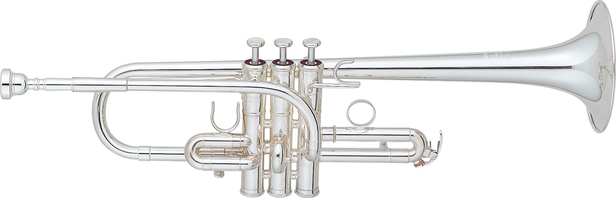 Yamaha Es/D Trompet YTR-9610 Lightweight Custom - Uitvoering: Verzilverd