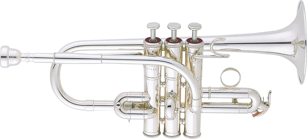 Yamaha F/G Trompet YTR-9710 Lightweight Custom - Uitvoering: Verzilverd