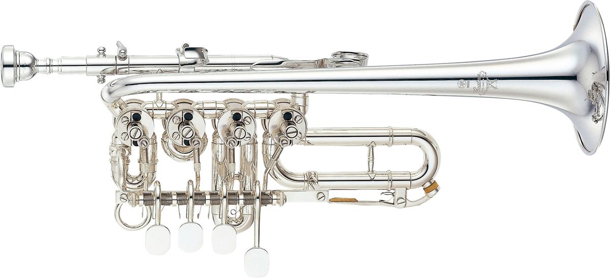 Yamaha Piccolo Trompet YTR-988 Lightweight Custom - Uitvoering: Verzilverd