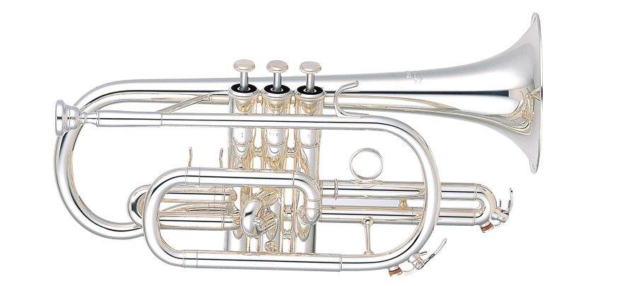 Yamaha Bb Cornet YCR-6330SII Professional - Uitvoering: Verzilverd