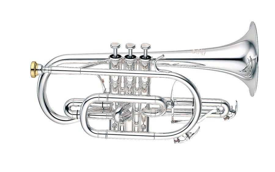 Yamaha Bb Cornet YCR-8335S Custom NEO - Uitvoering: Verzilverd