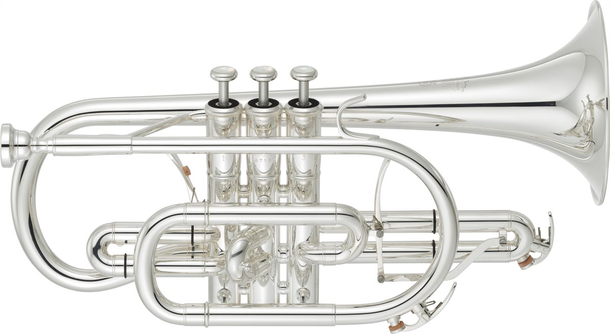 Yamaha Bb Cornet YCR-8335GS Custom NEO - Uitvoering: Verzilverd