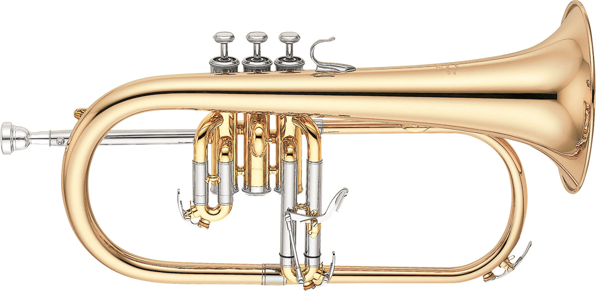 Yamaha Flugel Horn YFH-631G Professional - Uitvoering: Goudlak