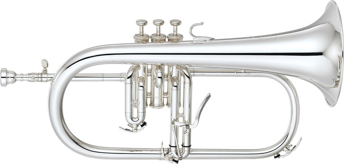 Yamaha Flugel Horn YFH-8310ZS Custom - Uitvoering: Verzilverd