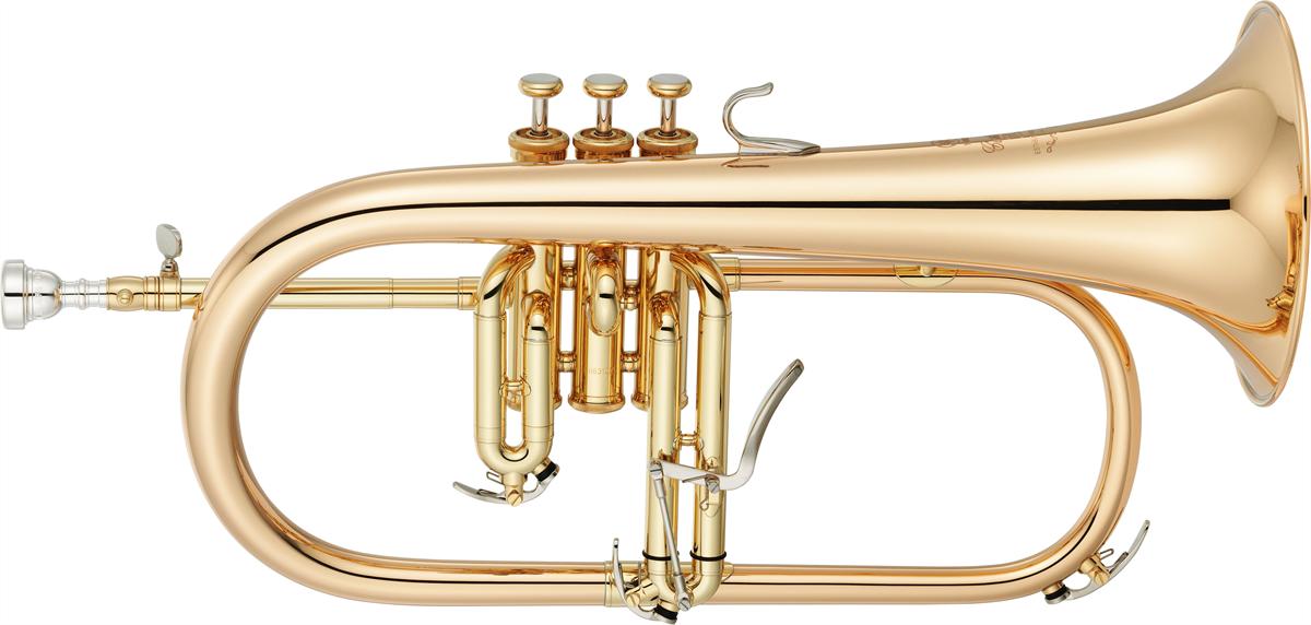 Yamaha Flugel Horn YFH-8310ZG Custom - Uitvoering: Goudlak