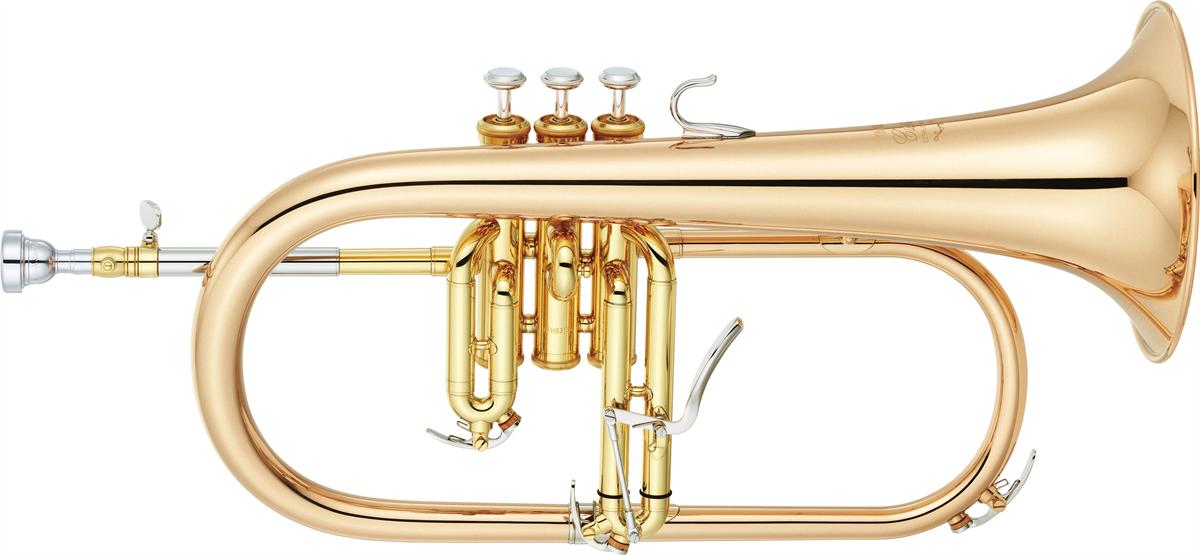 Yamaha Flugel Horn YFH-8315G Custom - Uitvoering: Goudlak